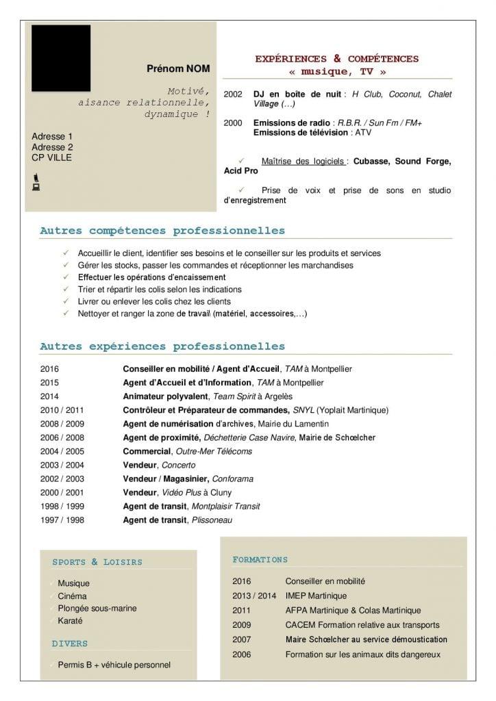 Particulier Cv Et Lettre De Motivation Alinéa Domiciliation